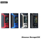 Wismec Sinuous Ravage 230W Box Mod (Batteries Included)