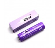 Efest IMR 18650 2500mAh 35A Nipple Top